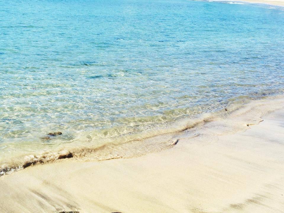 弓ヶ浜の一番きれいな時期