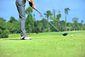 下田カントリークラブでゴルフ